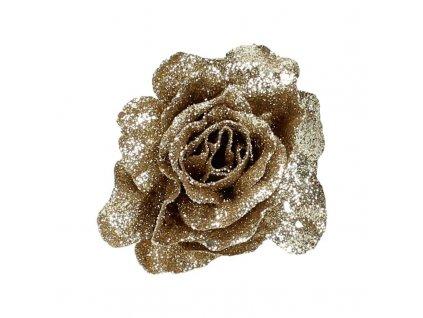 Ozdoba růže champagne