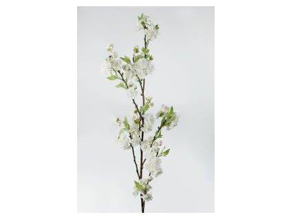 Umělá květina - Jabloňová větev bílá