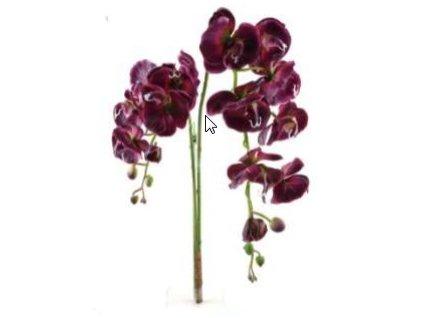 Umělá květina - Orchidea fialová