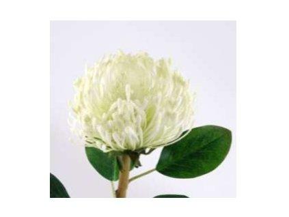 Umělá květina - Chryzantema bílá