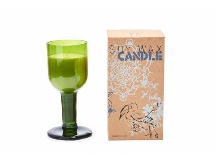 Vonná svíčka ze sójového vosku Munio Candela na nožce