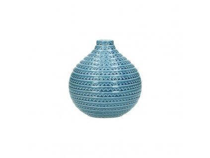 Keramická váza modrá