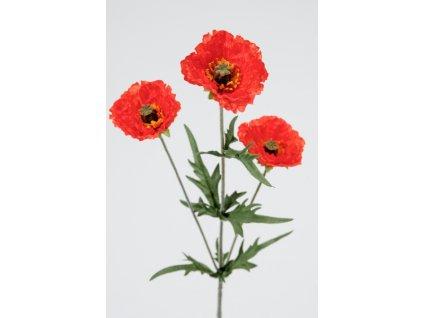 Umělá květina - Vlčí máky