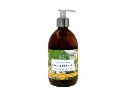 Tekuté mýdlo pomerančový květ