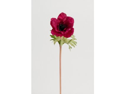 Umělá květina - Sasanka vínová