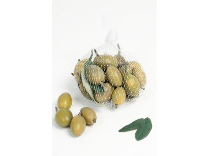 Umělá dekorace - Olivy zelené