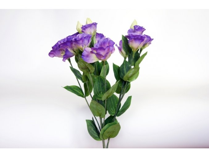 Umělá květina - Lisianthus