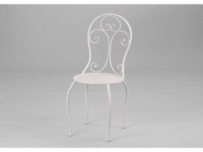 Židle kovová