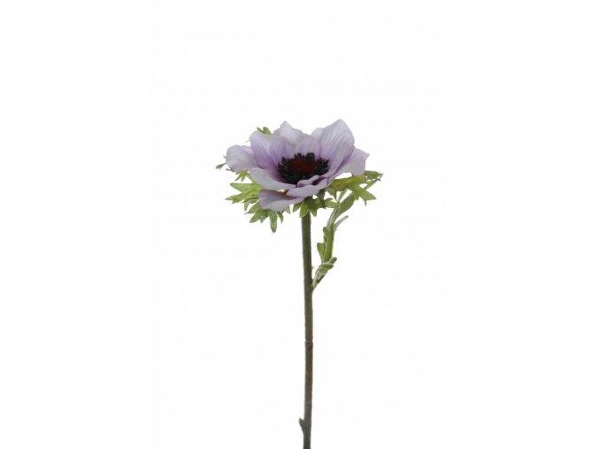Umělá květina - Sasanka fialková