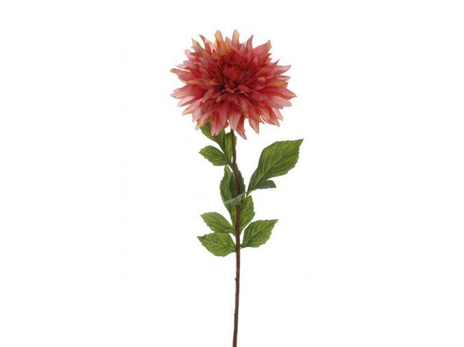 Umělá květina - Jiřina granatová