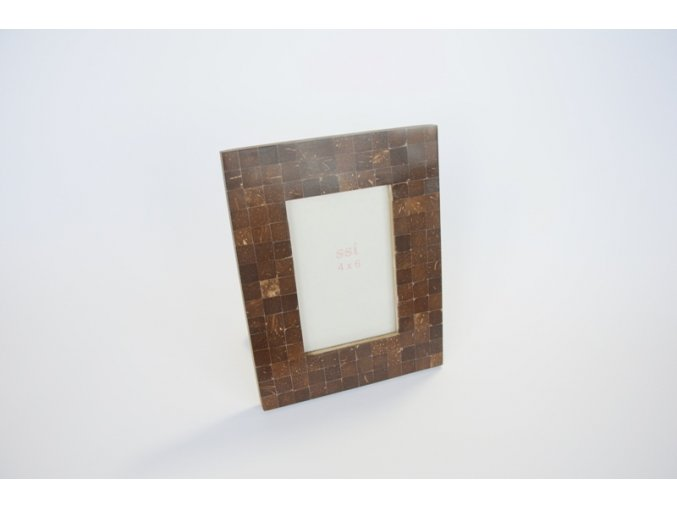 Rámeček z kokosového dřeva malý