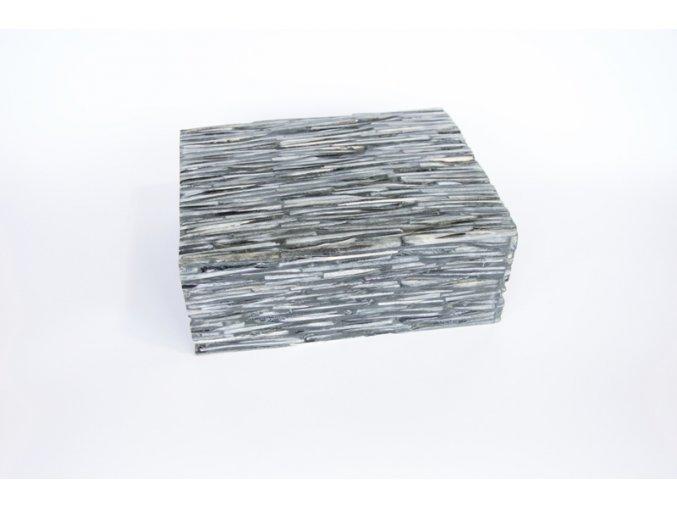 Krabice-šperkovnice šedá kost