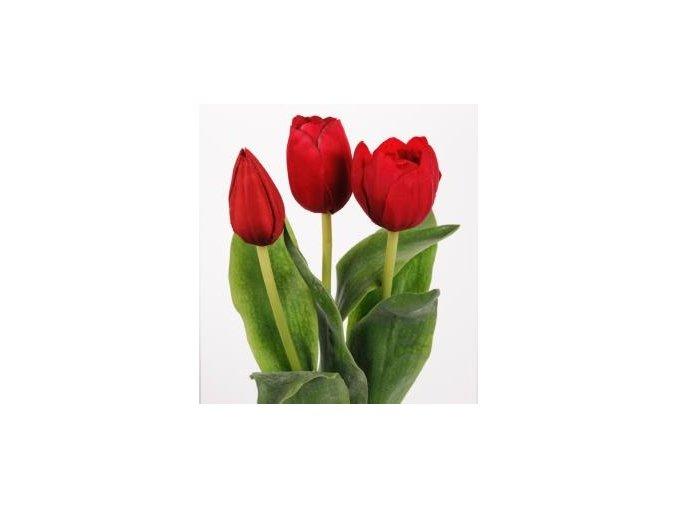 umela-kvetina-tulipan-cerveny-mix