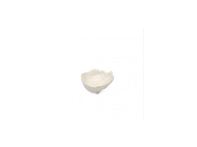 Miska sůl Bordallo 9cm bílá