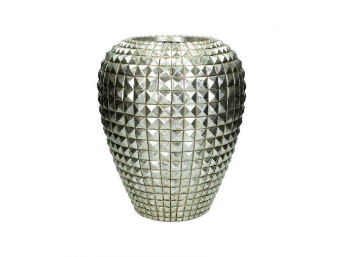 Váza stříbrná