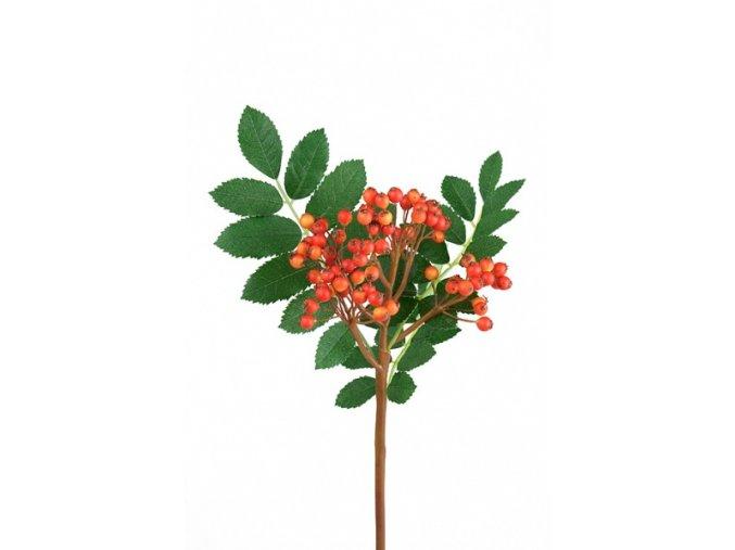 Umělá květina - Jeřabiny
