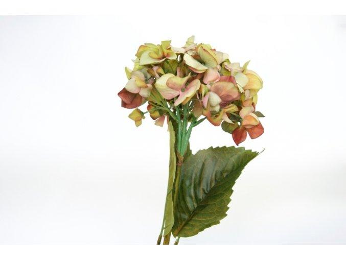 Umělá květina - Hortenzie zelená