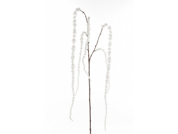 Umělá květina - Amarant bílý
