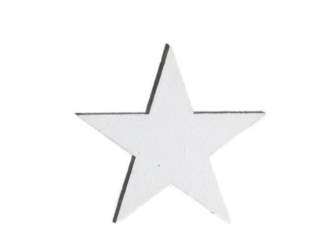 Ozdoba dřevěná hvězda (balení 24kusů)