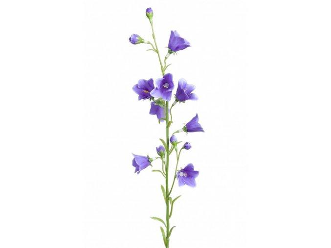 Umělá květina - modré zvonečky