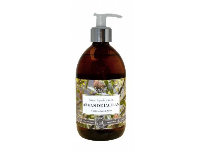 Tekuté mýdlo argan