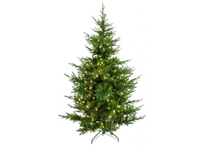 umela-dekorace-vanocni-stromecek-verde-jedlicka-se-svetylky-240-cm