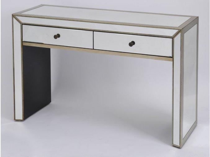 Konzolový stolek skleněný