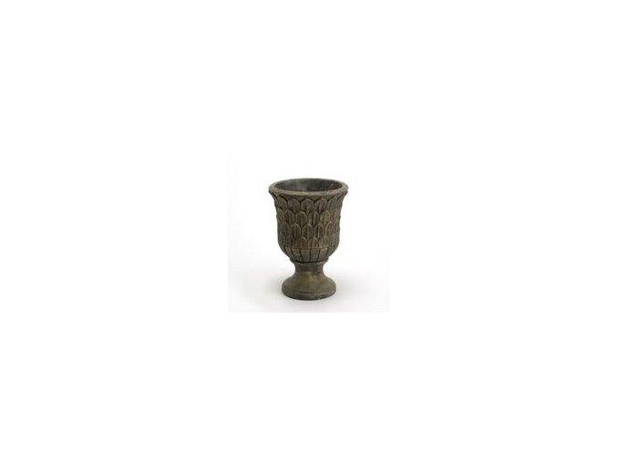 Váza antická se zlatou patinou