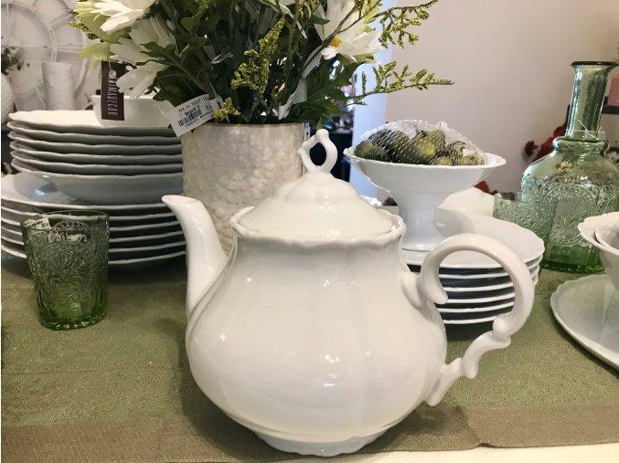 Konvička porcelánová na čaj
