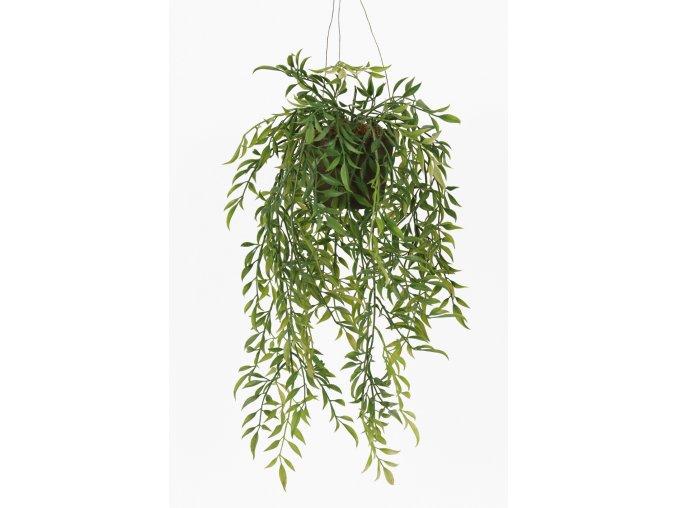 Umělá květina - Hoya převislá rostlinka na zavěšení