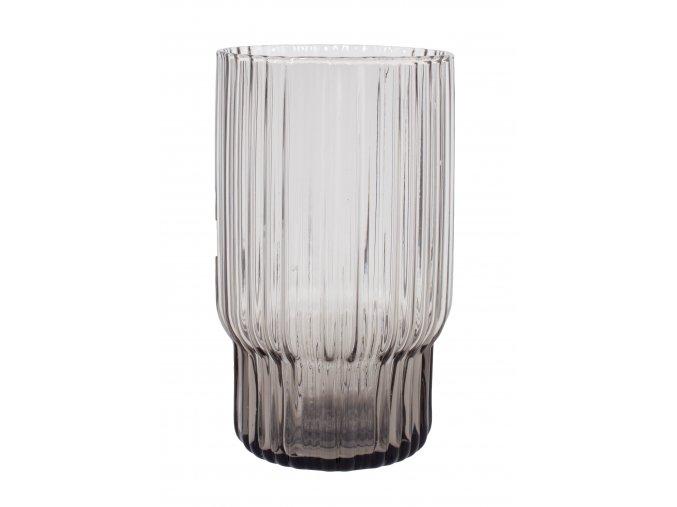 Sklenička z kouřového skla velikost L