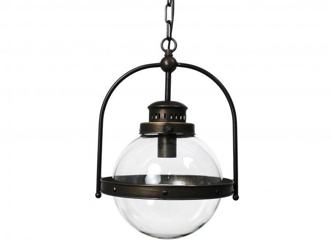 Lustr ve stylu petrolejové lampy