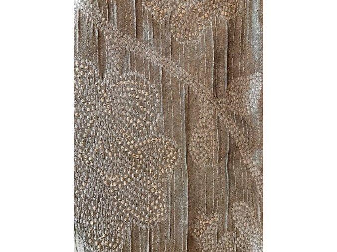 Polštář stonky s květem bronzovo hnědý