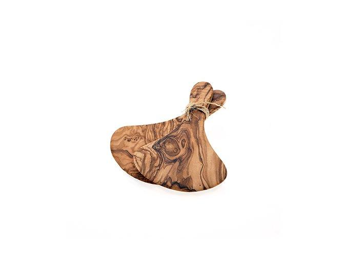 Prkénko servírovací z olivového dřeva 19 cm