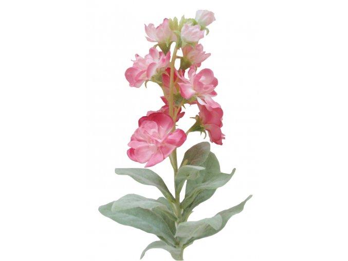 Umělá květina - Fiala růžová