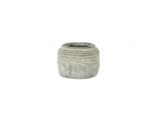 Obal kameninový šedý Marchelle 18cm