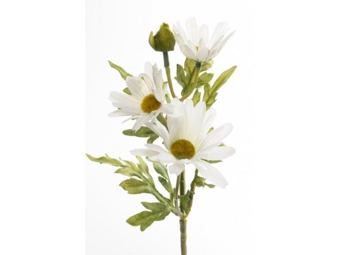 Umělá květina - Kopretina bílá
