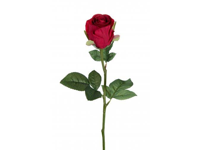 umela-kvetina-ruze-ruda