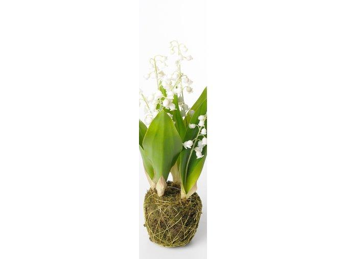 umela-rostlina-konvalinka-v-balu