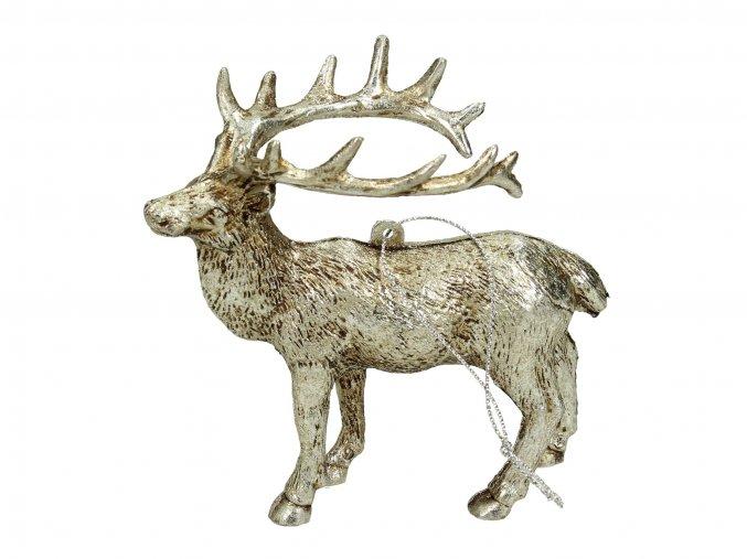 vanocni-ozdoba-jelen-stribrny