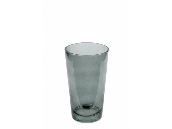 Váza sklen.zelená velká 4284-03