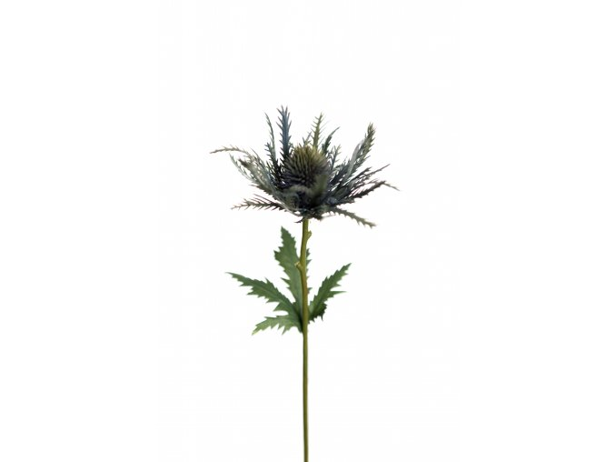 Umělá dekorace - Bodlák luční 25cm