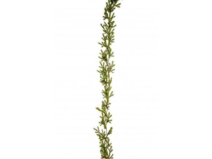 umela-dekorace-girlanda-mini-vetvicky-smrcek-140cm
