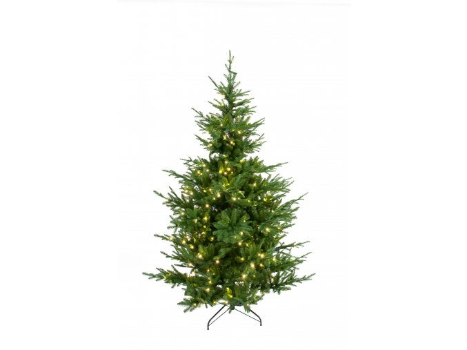umela-dekorace-vanocni-stromecek-verde-jedlicka-se-svetylky-180cm