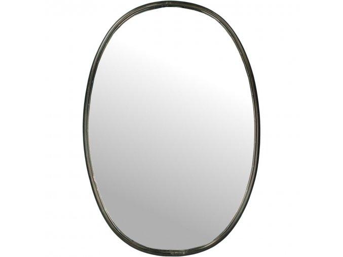 zrcadlo-ovalne-cerne-67cm