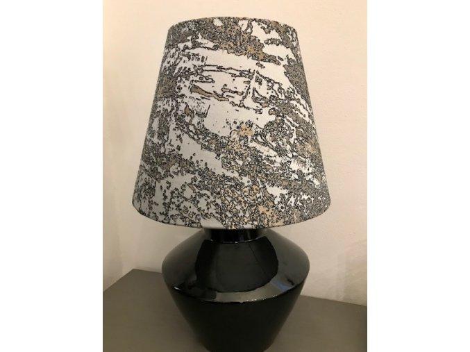 lampa-stolni-cerna-se-sedym-vzorovanym-stinidlem