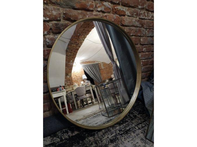 zrcadlo-kulate-anticka-zlata--80cm