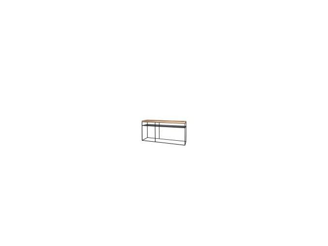 konzolovy-stolek-kovovy-s-drevenou-deskou