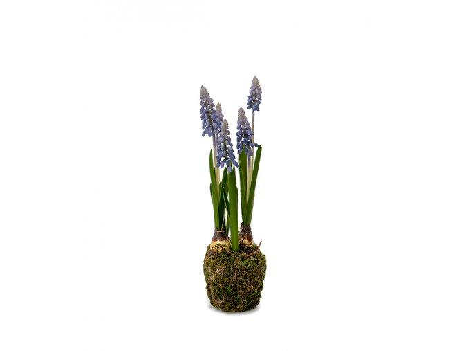 umela-rostlina-modrenec-v-balu-25cm