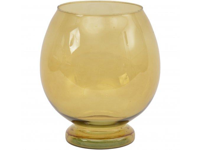 vaza-sofia-sklenena-jantarove-sklo